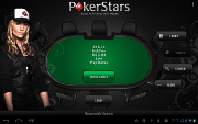 PokerStars Android Lobby