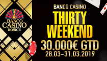 LIVE REPORT - BCK Thirty Weekend - pred posledným flightom OVERLAY 10.000€!