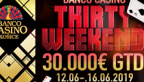 LIVE REPORT: Banco Casino Košice - Banco Casino Thirty Weekend DAY D + DAY E Turbo