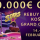 Live Report - Day2 – Rebuy Stars Košice Grand Opening – 50 € TRIPLE CHANCE, 1 re-entry, 100.000 € GTD